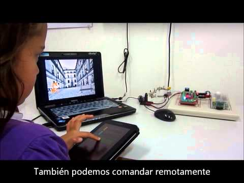 Programando Tabletas con Scratch para Robótica y Automática Pedagógicas