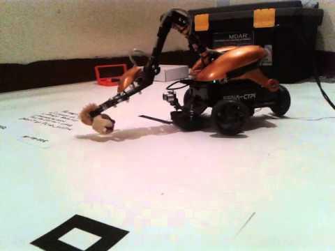 robot didáctico, pruebas de control