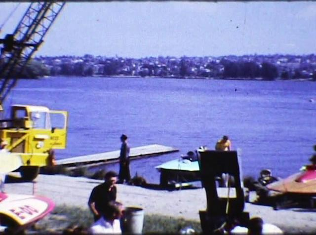 Limited Hydroplane Racing at Green Lake, Washington 1967