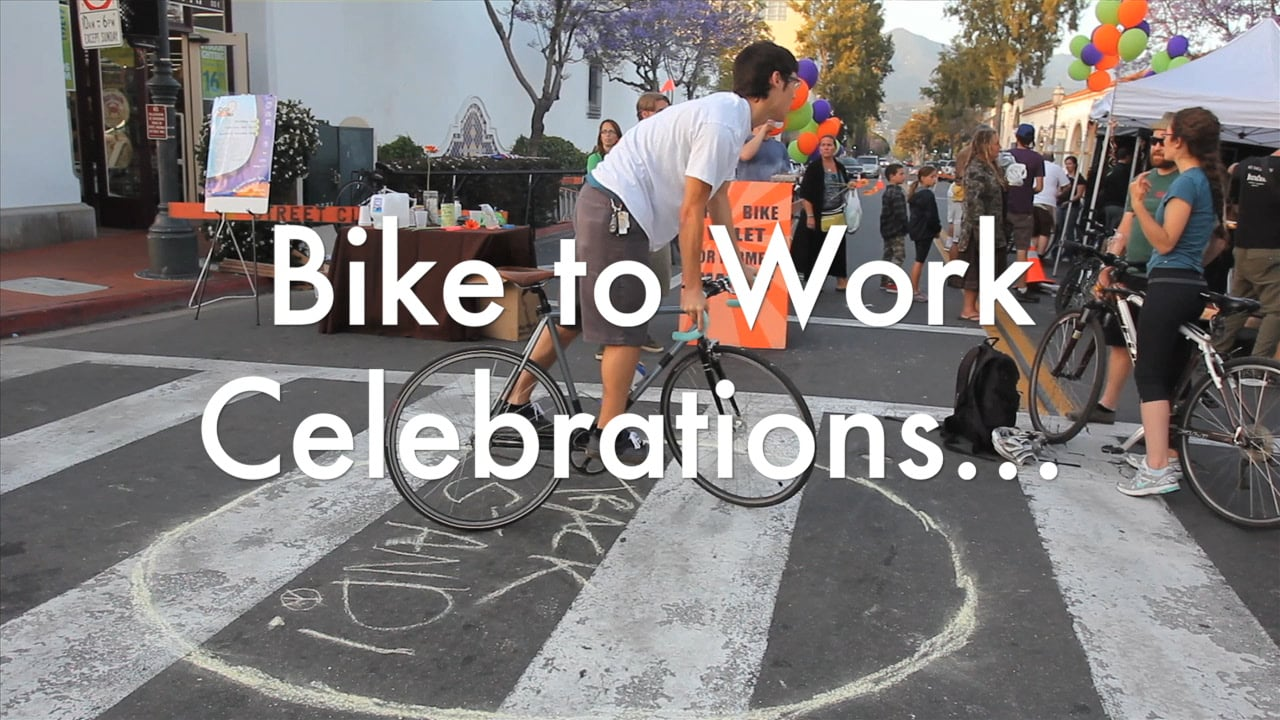 CycleMAYnia Bike to Work Celebrations - May 10th, 11th, 24th and 25th