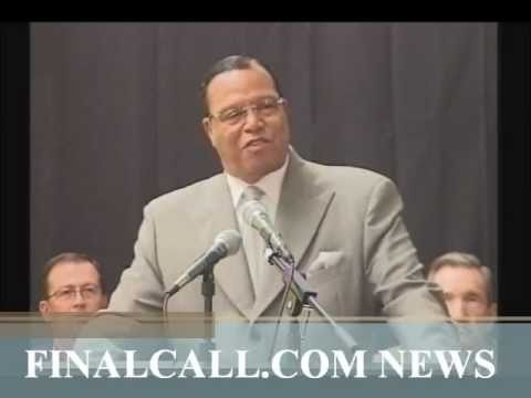 "Farrakhan Blasts the ""Coalition of Demons"" attacking Libya (June 15, 2011)"