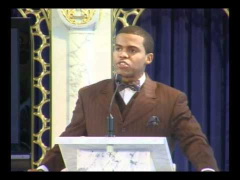 Minister Farrakhan's youth speak. student minister kahil yaameen.