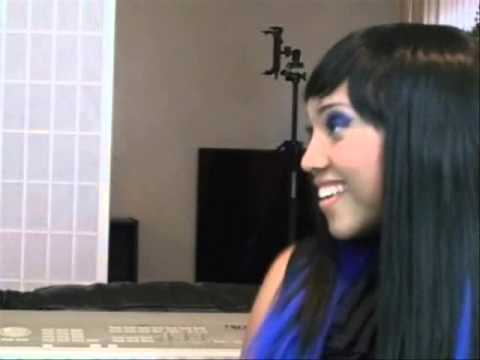 14 Year Old AmyBlue Sings Fallin by Alicia Keyes-Interview