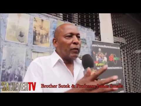 Real Talk! interveiw in Harlem with Professor James Smalls, Africa, Economics, Vodun