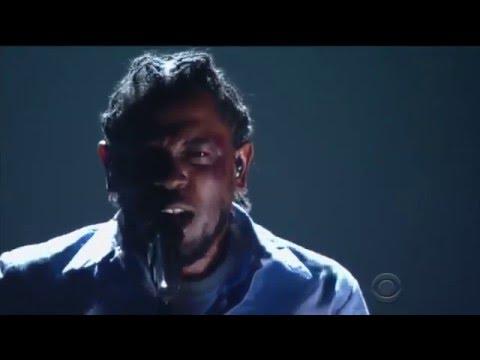 Kendrick Lamar's Grammy Performance 2016
