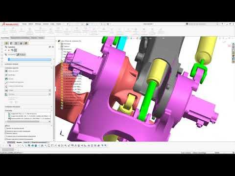 [Formation SolidWorks] Le robot dans toutes ses positions !