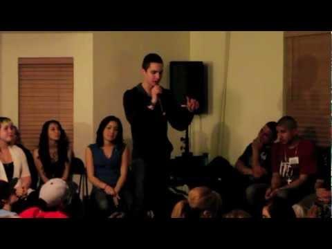 Isaiah Saldivar Speaking At The Awakening 2-9-2012
