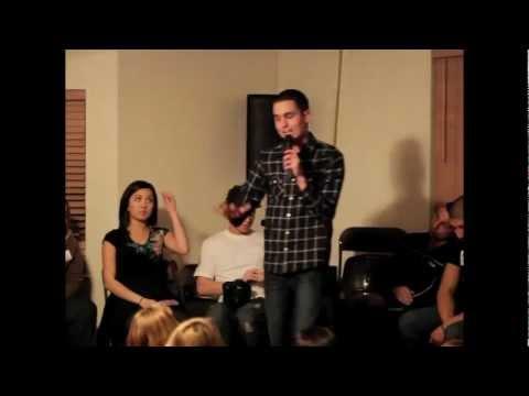 Isaiah Saldivar Speaking at The Awakening 1-26-2012