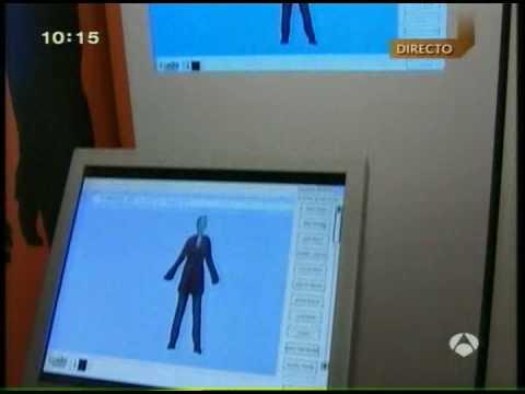IBV - Directo sobre el escáner humano tridimensional en la exposición Cuidamos tu calidad de vida