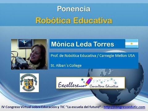 Ponencia de Mónica Leda Torres. Robótica Educativa