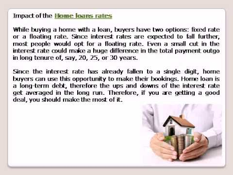 Home loans rates