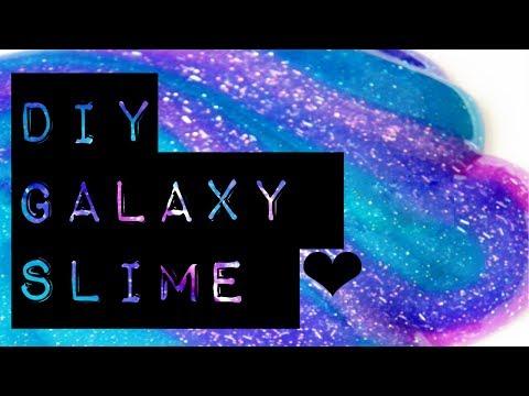 DIY Galaxy Slime - Sasha O'Hare