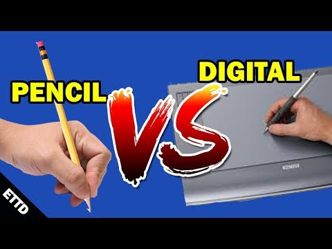2 Tips to Going Digital - Easy Things to Draw for Beginners