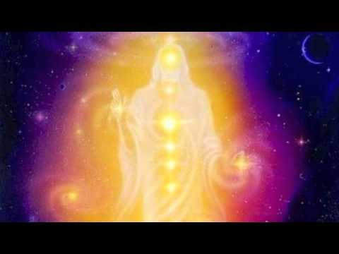 Meditace se zlatym svetlem