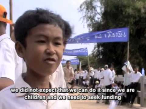 World Vision Cambodia's Peace Road March - Part 2