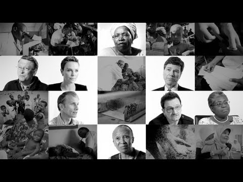 The Global Fund: Be the Generation to Defeat AIDS, TB & Malaria ft Charlize Theron & Bono