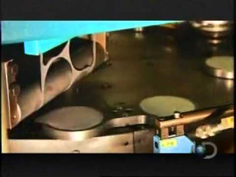 Stacked Potato Chips Processing.flv