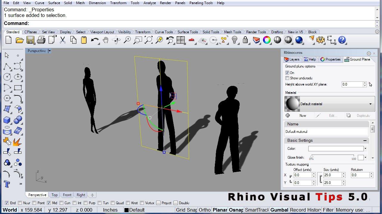 Rhino 5.0 Visual Tips: Chapter 5: GumBall: Bunny Tail