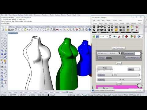 GJD3D DressForm Introduction