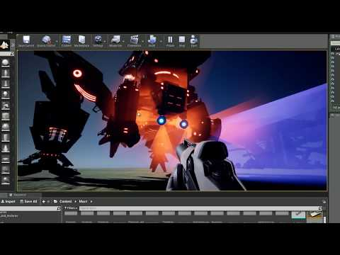 Unreal Engine 4:  Animation and rig technical charcters