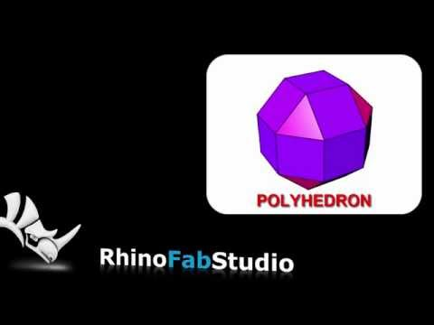 POLYHEDRON, a free Plug-in for Rhino 5