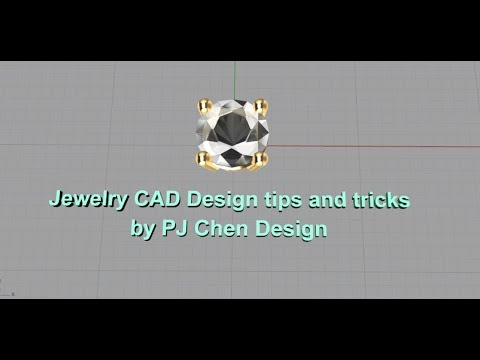Jewelry CAD Design- Rendering Tips and Tricks