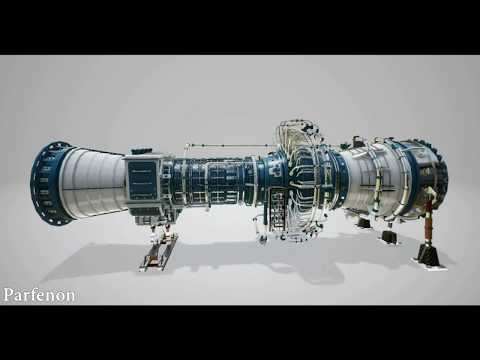 How turbine works (3d model -In Unreal Engine 4)
