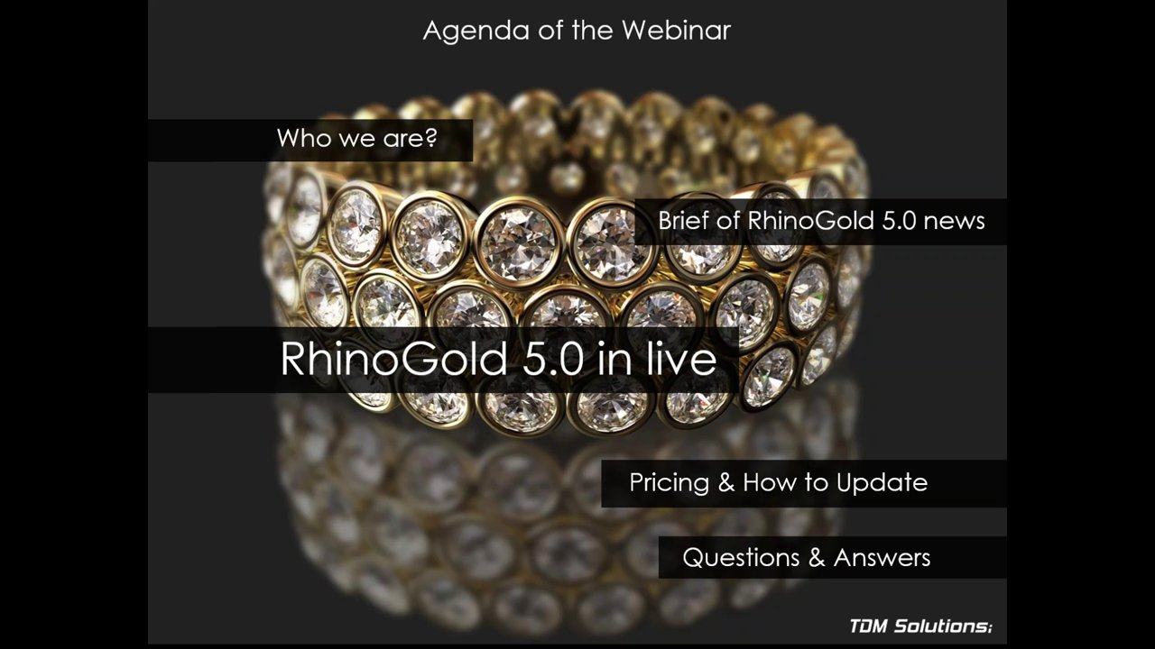 Webinar: What's new in RhinoGold 5.0