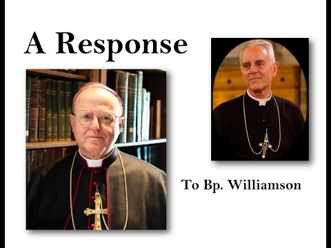 Bishop Sanborn's Response to Bishop Williamson's Attacks