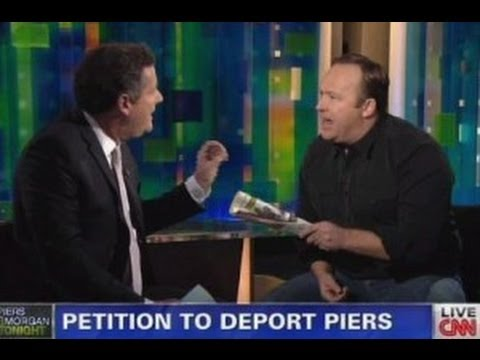 Alex Jones vs. Piers Morgan Pt-1: '1776 Will Commence Against If You Try To Take Our Firearms'