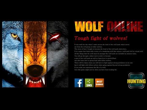 """Best wolf combat game. """"Wolf Online"""""""