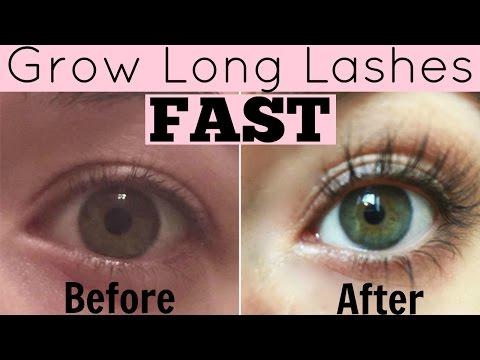 Eyelash Growth Serum Home Remedy to Grow Long Eyelashes Fast!