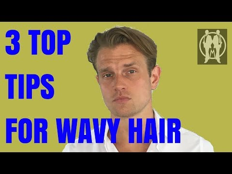 3 Top Style Tips for Men's Curly/Coarse/Wavy Hair   Men's Hair Style Tips