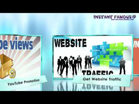 Instant Famous - Increase your website visibility
