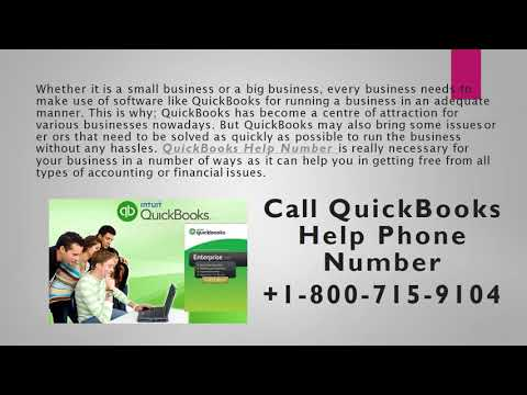 Get Excellent Help With QuickBooks Help Number