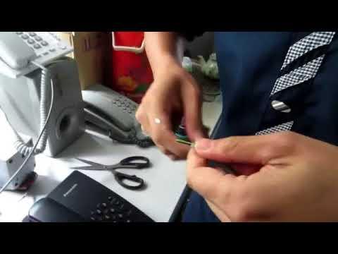 Video hướng dẫn lắp đặt điện thoại analog cho tổng đài panasonic MOV