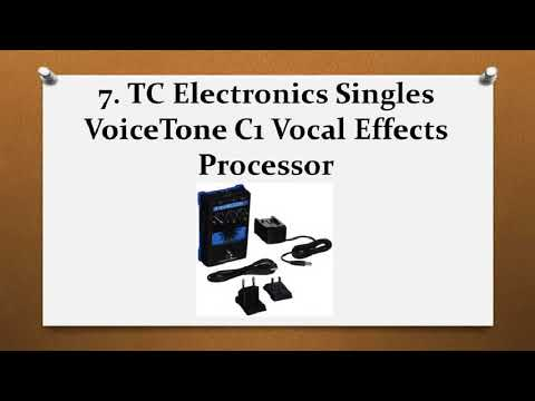 Top 10 Best Vocal Processors