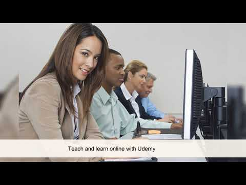 Teach and learn online with Udemy