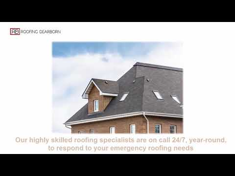 Roof contractors dearborn michigan