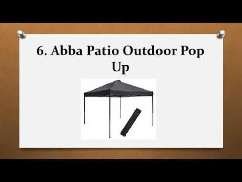 Top 10 Best Pop Up Canopies