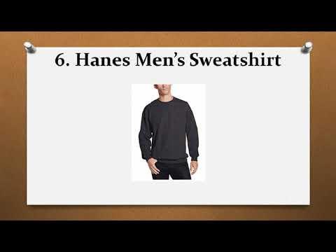Top 10 Best Sweatshirts