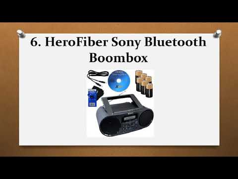 Top 10 Best Bluetooth Boomboxes