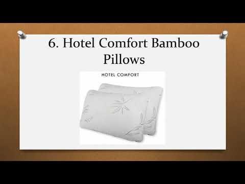 Top 10 Best Bamboo Pillows