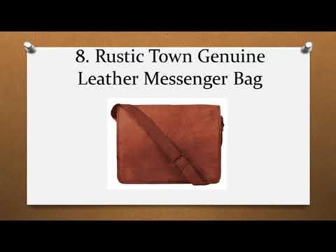 Top 10 Best Messenger Bags for Men