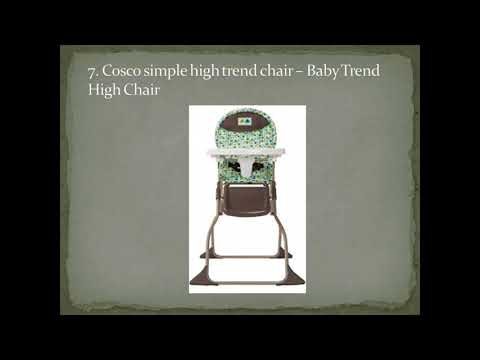 Top 9 Best Baby Trend High Chairs