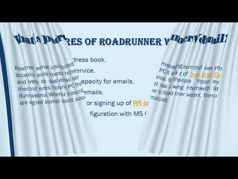 Roadrunner Webmail Toll Free 1 888 252 4275