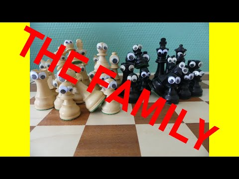 STOPMOTION CHESS & ASMR (part4) [WHAT CHESSPIECES DOING BEFORE A GAME?]