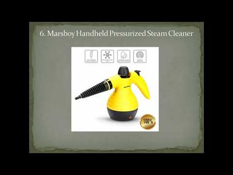 Top 7 Best Portable Steam Cleaners