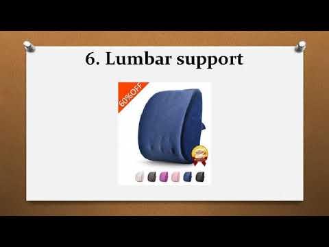 Top 10 Best Lumbar Support Pillows