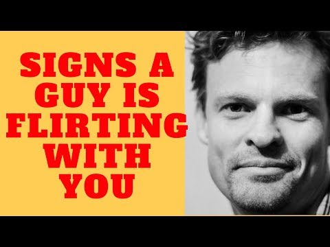 Signs A Guy Is Flirting With You